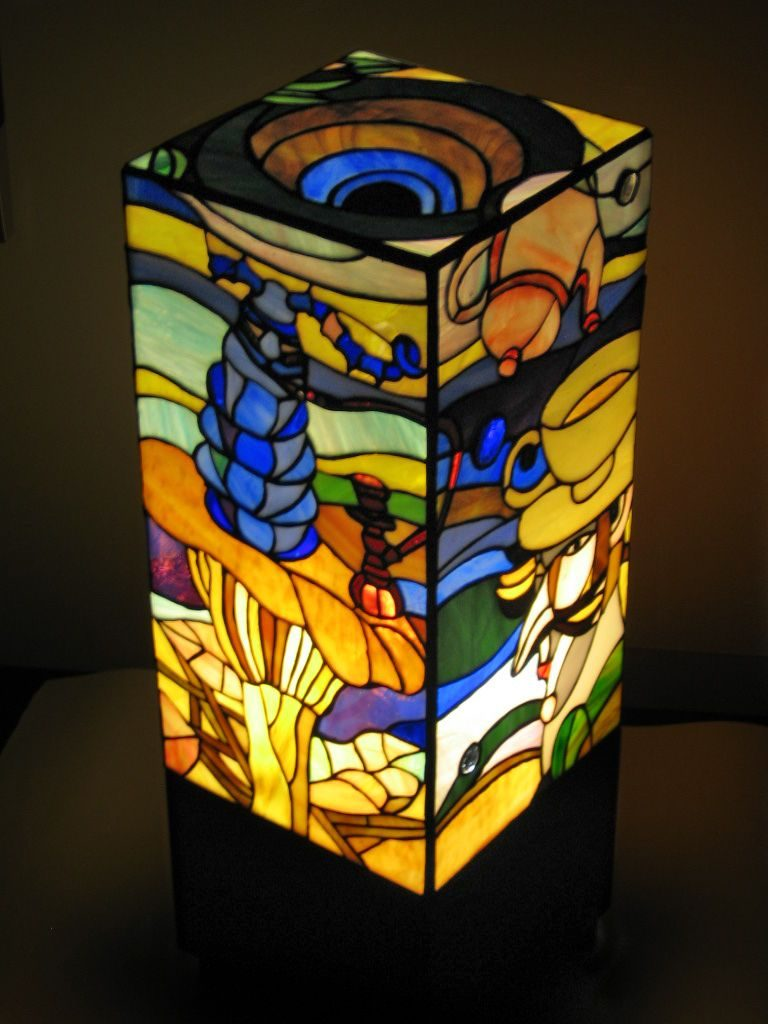 The Coolest Lamp Shades That Include Mosaic Art Mozaico Blog