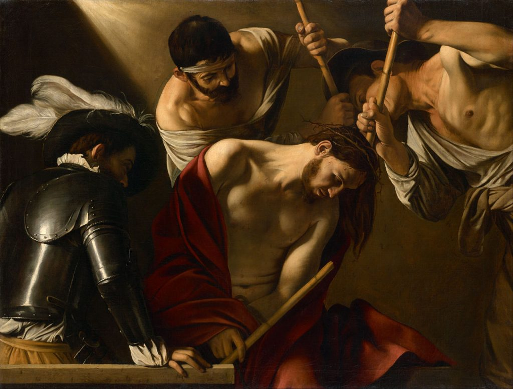 The Crowning with Thorns | Baroque Art | Mozaico