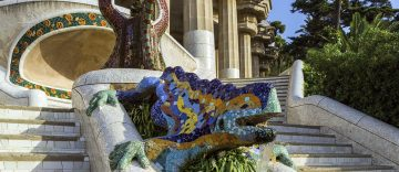 Mosaic dragon