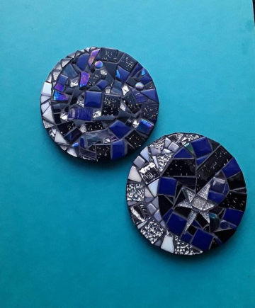 DIY Mosaic Coasters