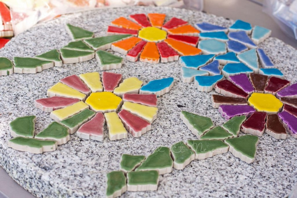 Garden Mosaic Pavers, Baby, Kind and Meer | How to Become a Mosaic Artist | Mosaic Art | Mozaico