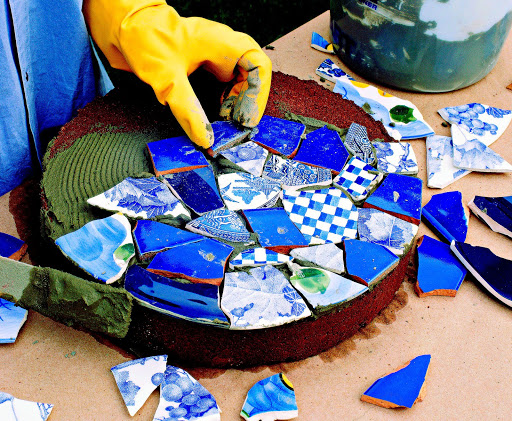 Garden Mosaic Pavers, Midwest Living | How to Become a Mosaic Artist | Mosaic Art | Mozaico
