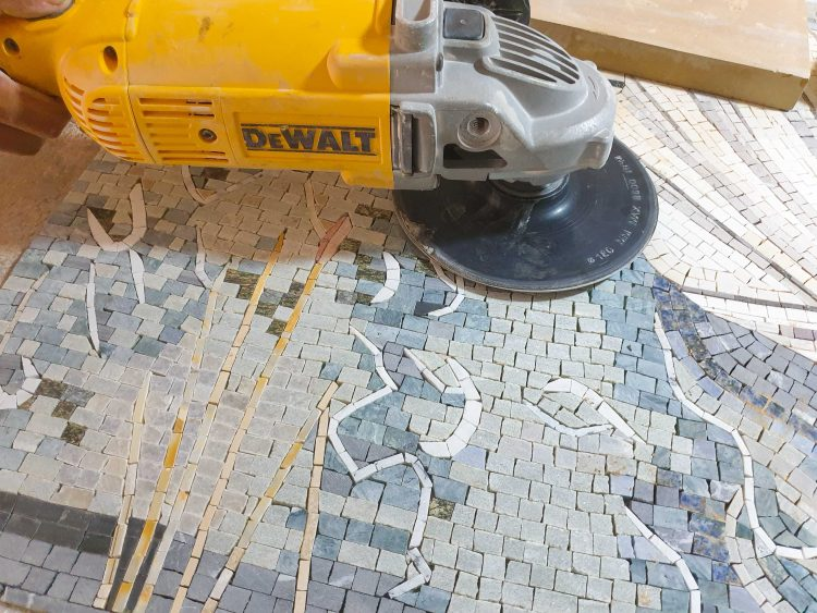 Grinding a Mosaic