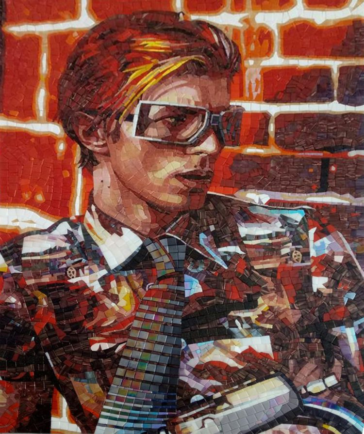 David Bowie Mosaic Artwork