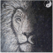 Lion Mosaic Wall Art by Mozaico