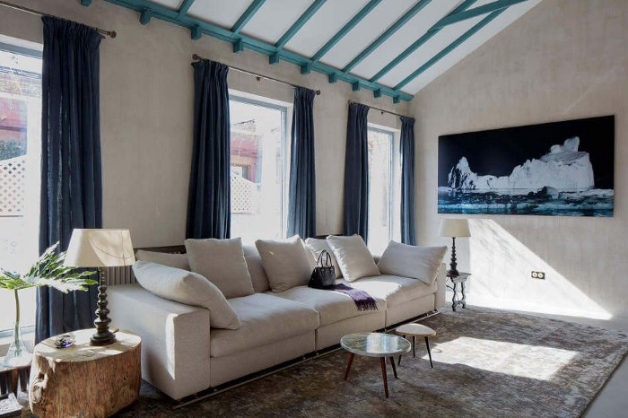 Modern Interior Design Style with Blue colors